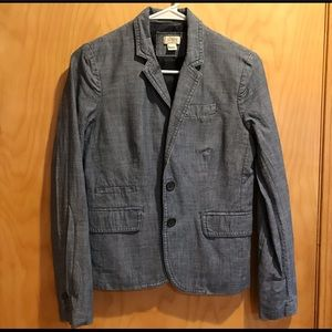JCrew  Denim Blazer